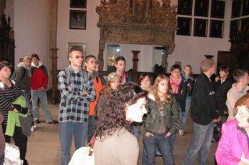 Im Friedenssaal des Münsteraner Rathauses